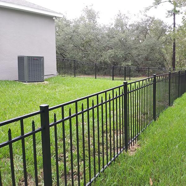 Aluminum fence Repair and Install In Hernando Beach, Fl