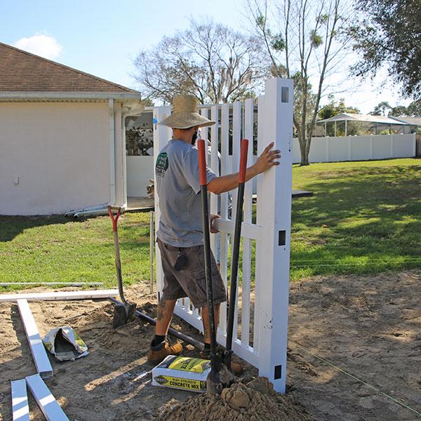 hernando fl fence install
