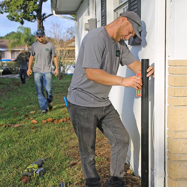 Aluminum Fence Installation In North Brooksville, Fl