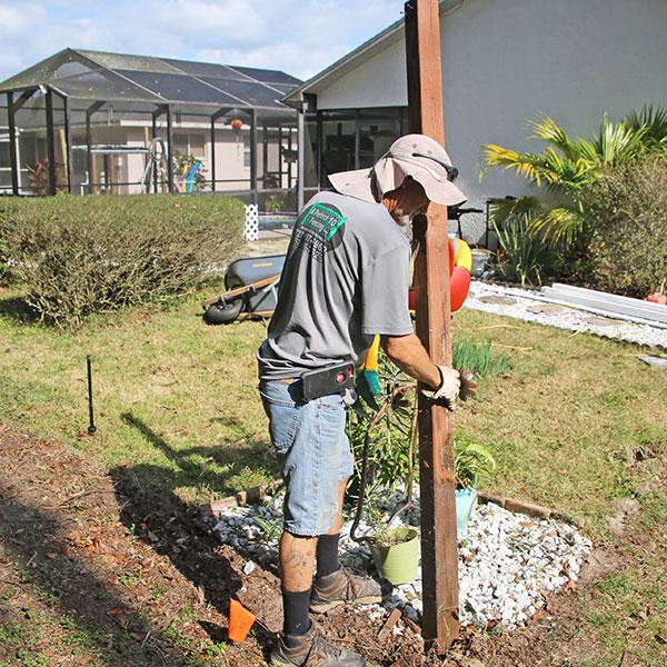 Wood Fence Installation in Hernando, Fl