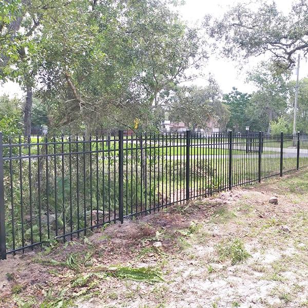 Aluminum Fence Installation in Hernando, Fl