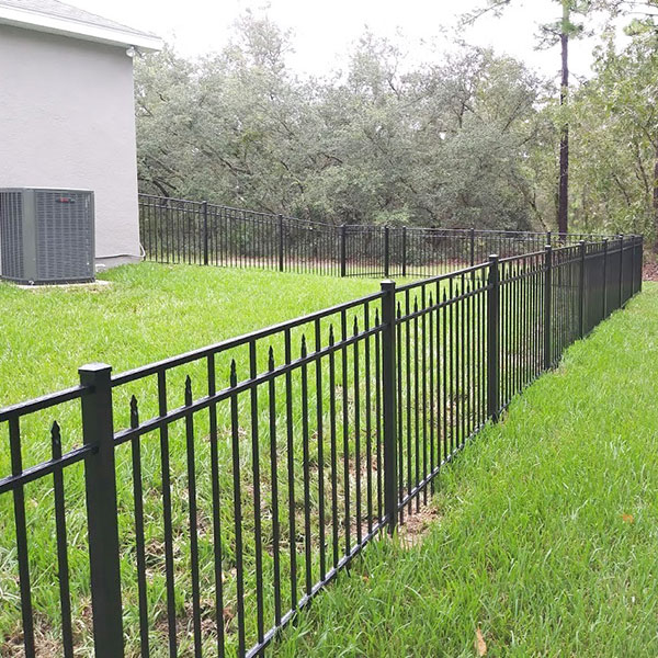 Metal Fence Installation in Hernando Beach, Fl
