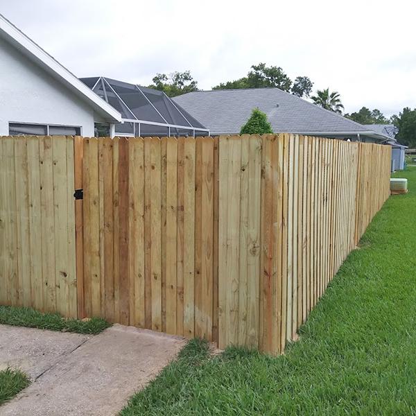 Residential Wood Fence Repair & Install In Hernando Beach, Fl