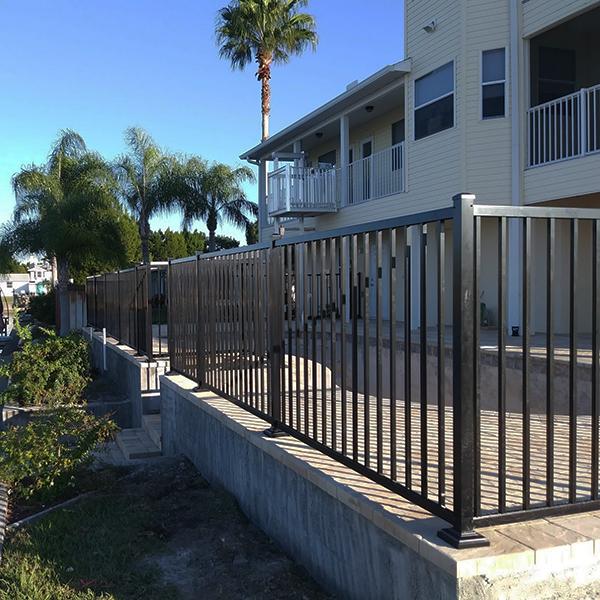 aluminum railing in florida