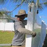 Vinyl Fence Installation in
