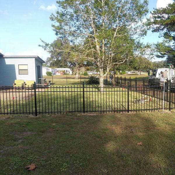 aluminum fencing, pasco county florida