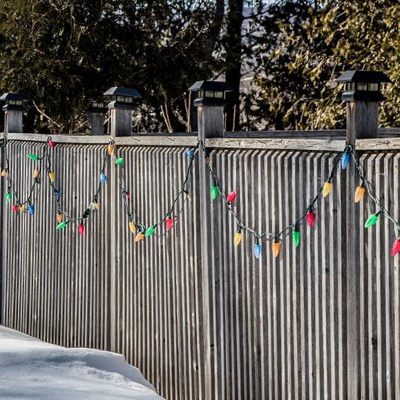 lighting decoration fence topper, fernando fl