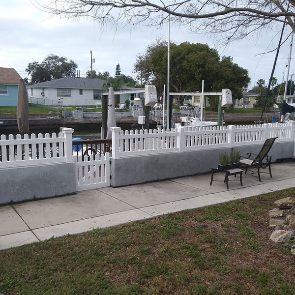 fencing types, pasco county fl