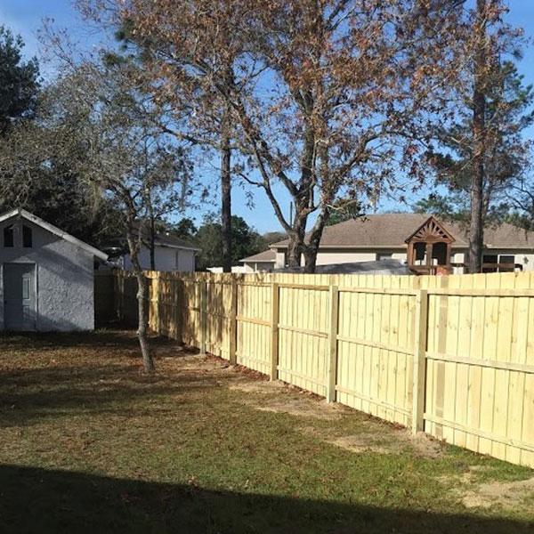 good neighbor wood fencing, hernando florida