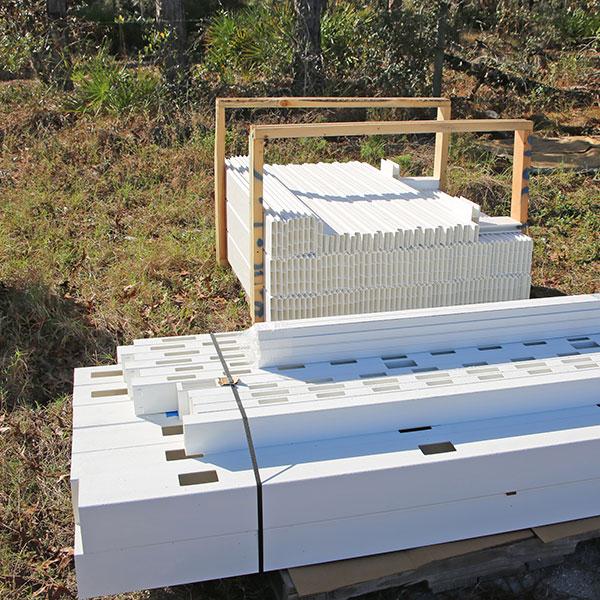 vinyl fence materials, sugarmill fl