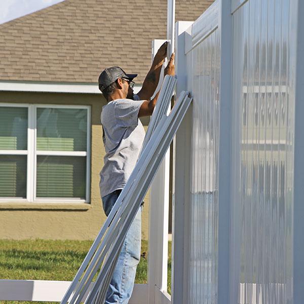 privacy fence installation, nobleton fl