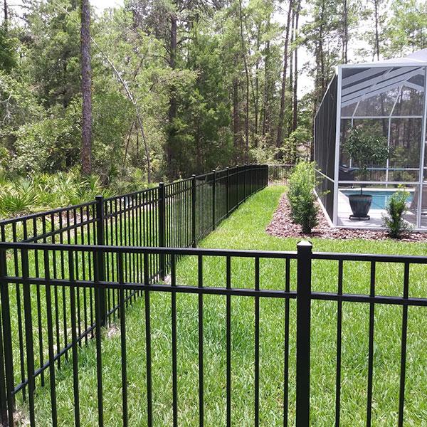 metal fencing install in sugarmill fl